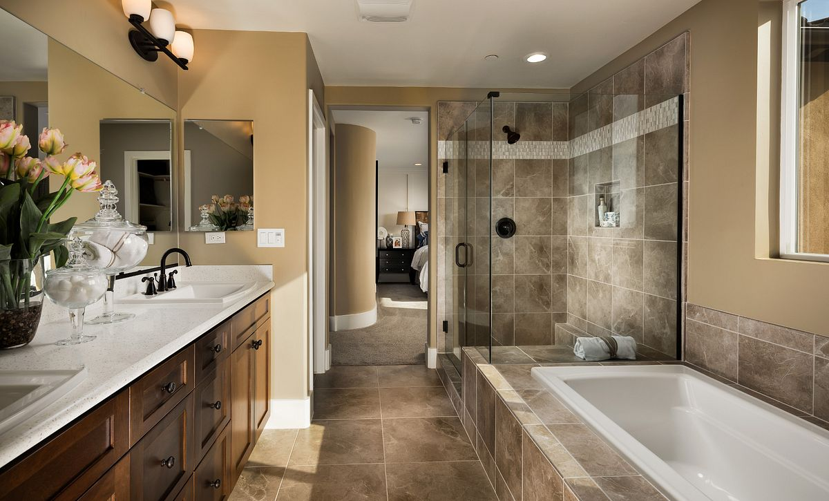 Shea Homes Rice Ranch Verbena Master Bath