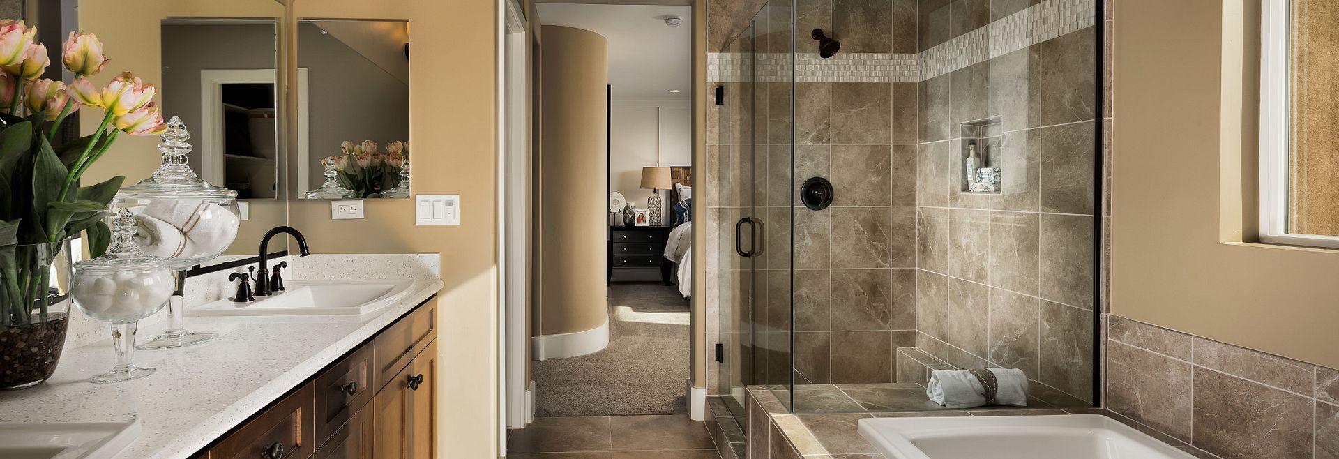 Shea Homes Rice Ranch Verbena Master Bath