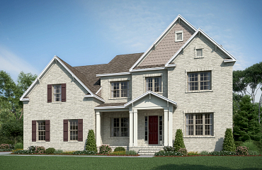 Exterior A with brick option