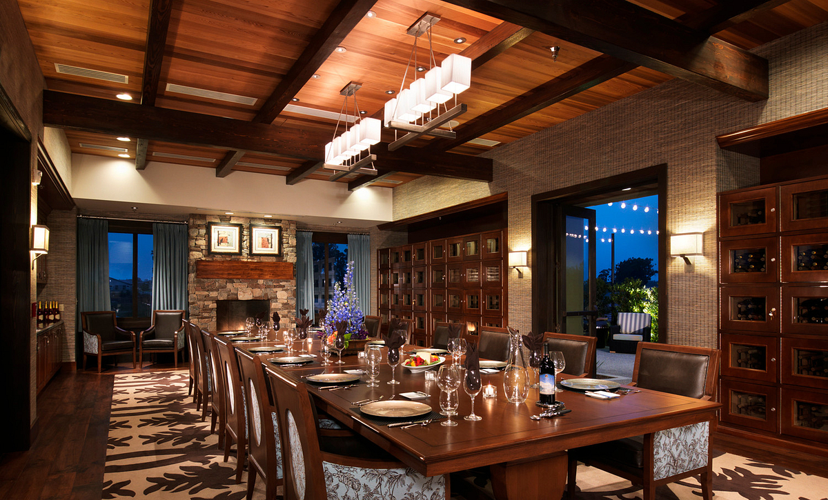 Trilogy® Monarch Dunes Wine Library