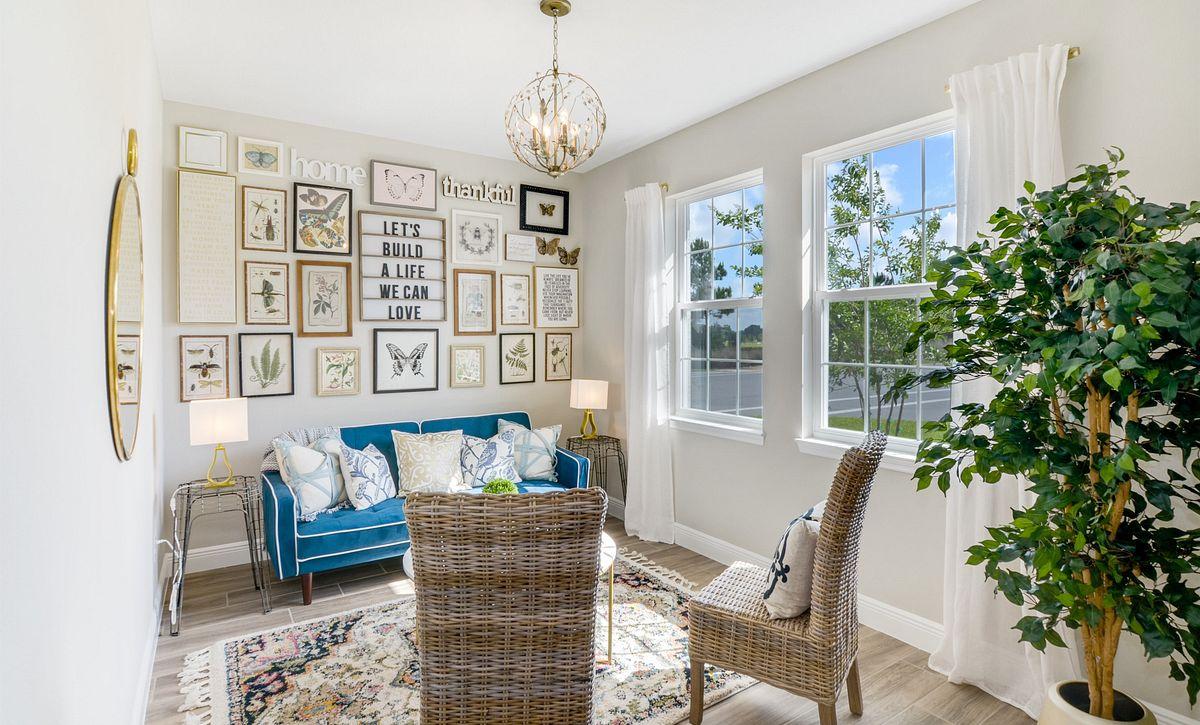 Trilogy at Ocala Preserve Affirm Model Home Den