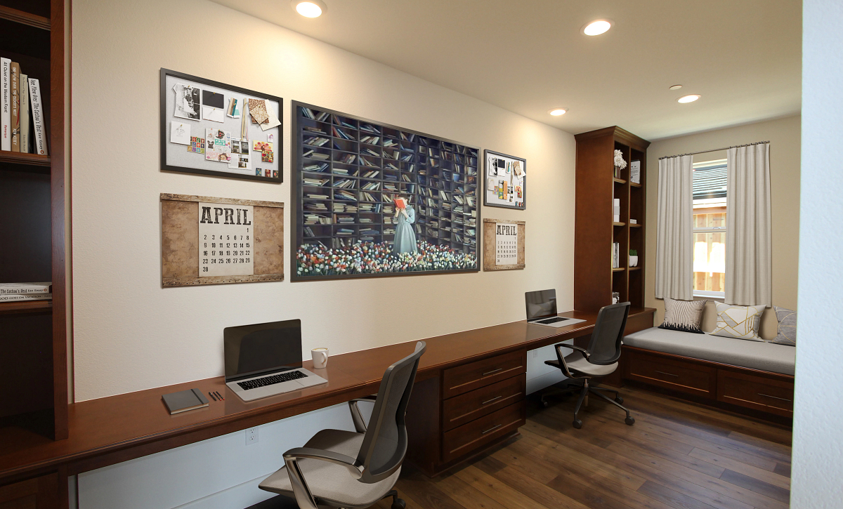 Plan 4 Alcove Virtual Staging