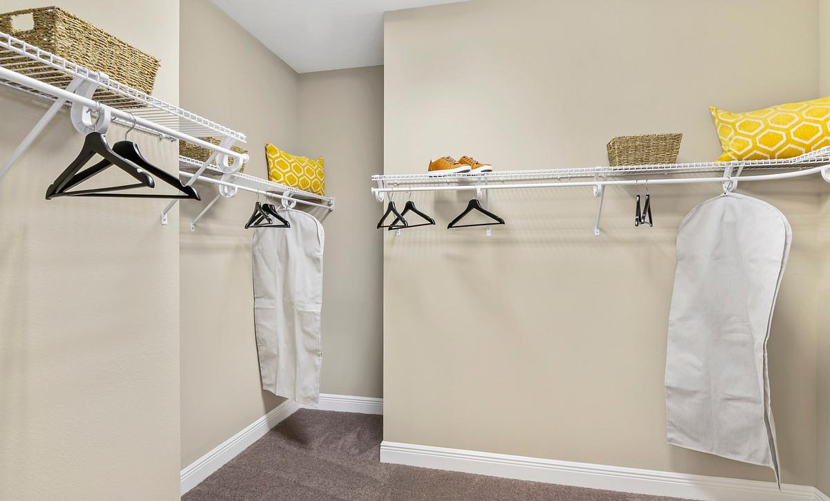 Trilogy at Ocala Preserve Liberty Model Home Master Closet