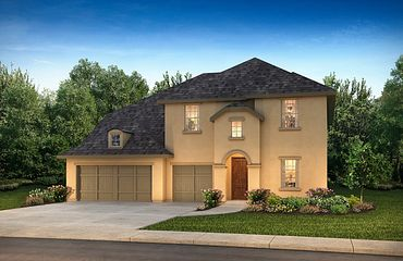 Plan 5069 Exterior C: French Country