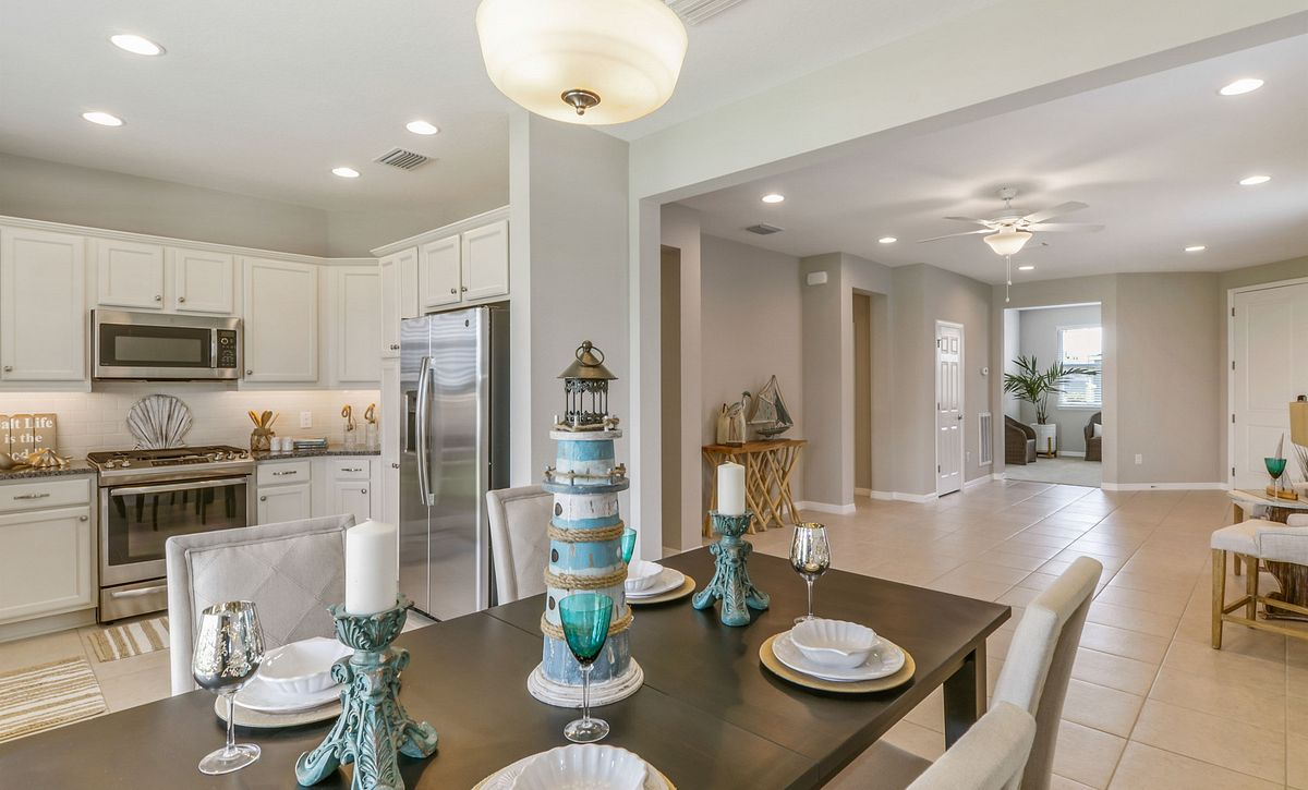 Trilogy at Ocala Preserve Naples Quick Move In Home Dining