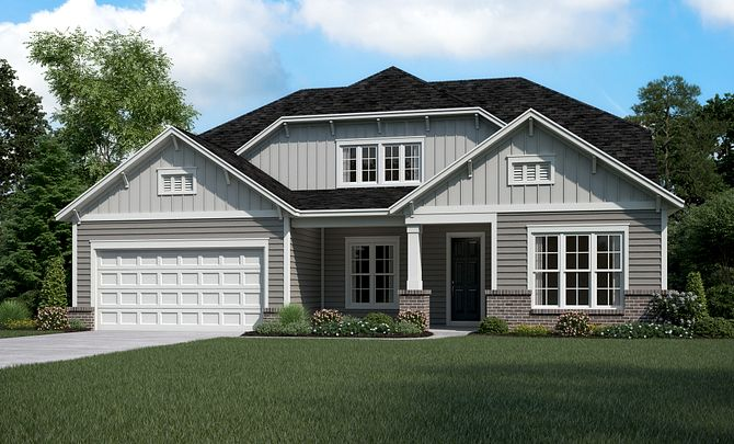 Everett Exterior D (2-story option)