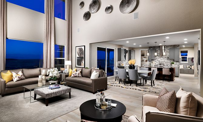 Colliers Hill Peakview Morning Star Main Floor