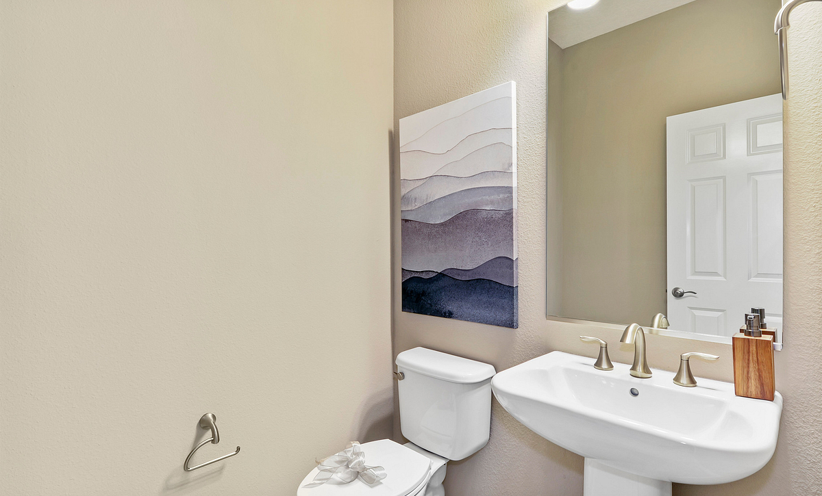 Trilogy at Ocala Preserve Excite Model Home Powder Room
