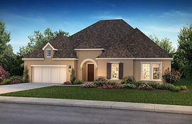 Plan 6010 Elevation B: French Country