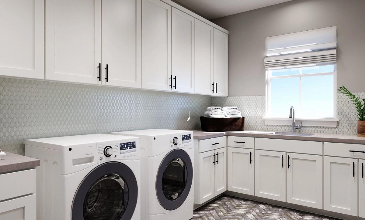 Solstice The Walton Laundry Room