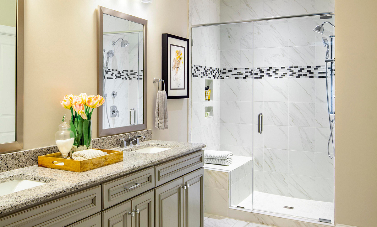 Trilogy Lake Norman Connect Plan Master Bath