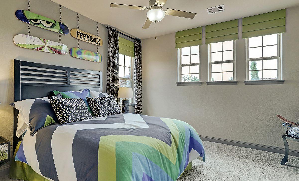 Plan 5030 Secondary Bedroom