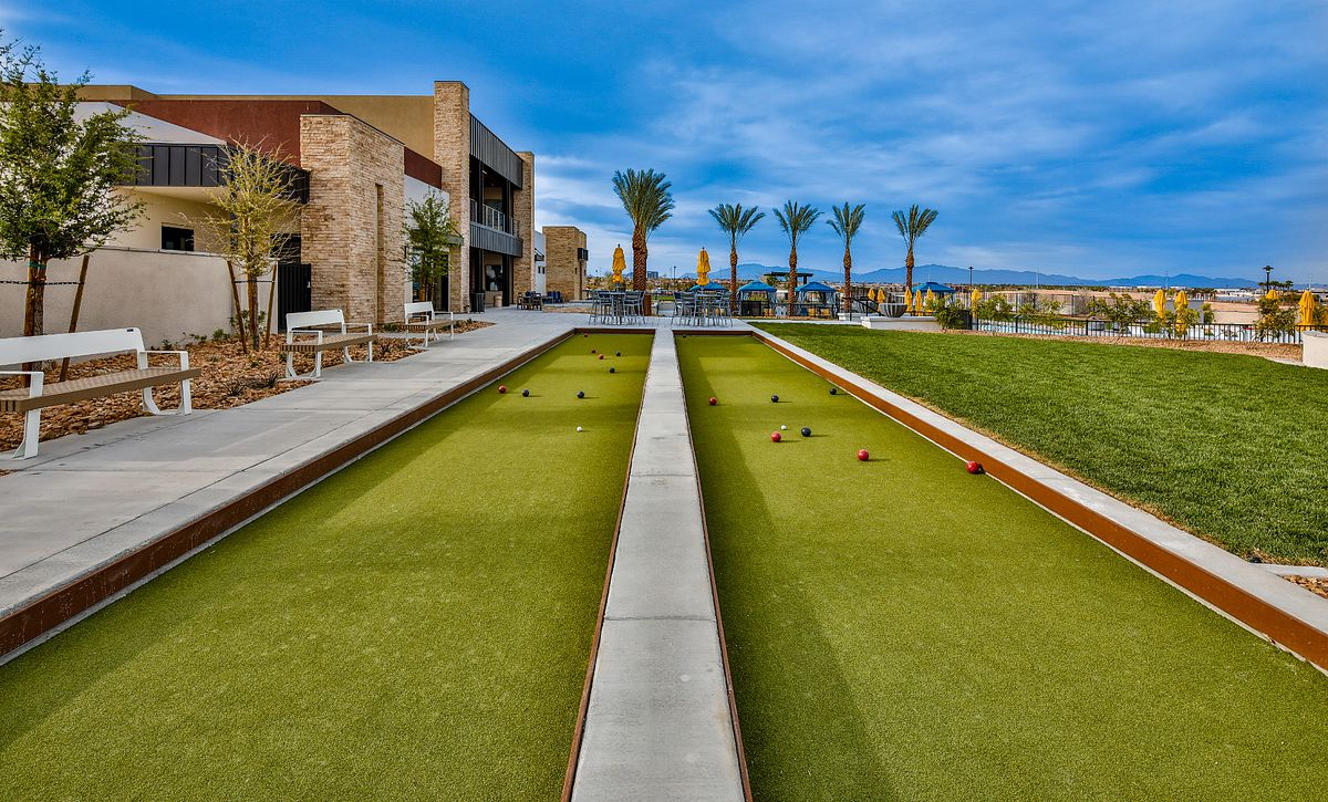 Trilogy Summerlin Bocce Ball Courts