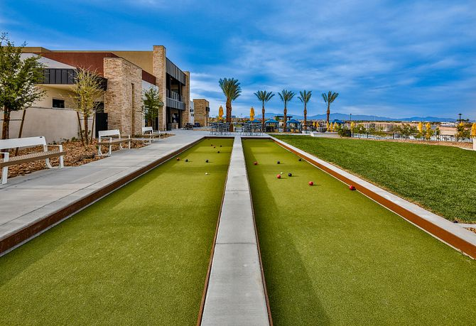 Trilogy Summerlin Outlook Club Bocce Ball Courts