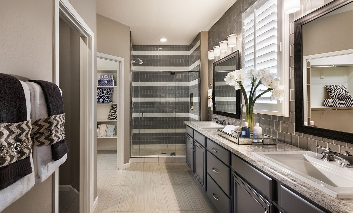 Vibrant Model Master Bathroom