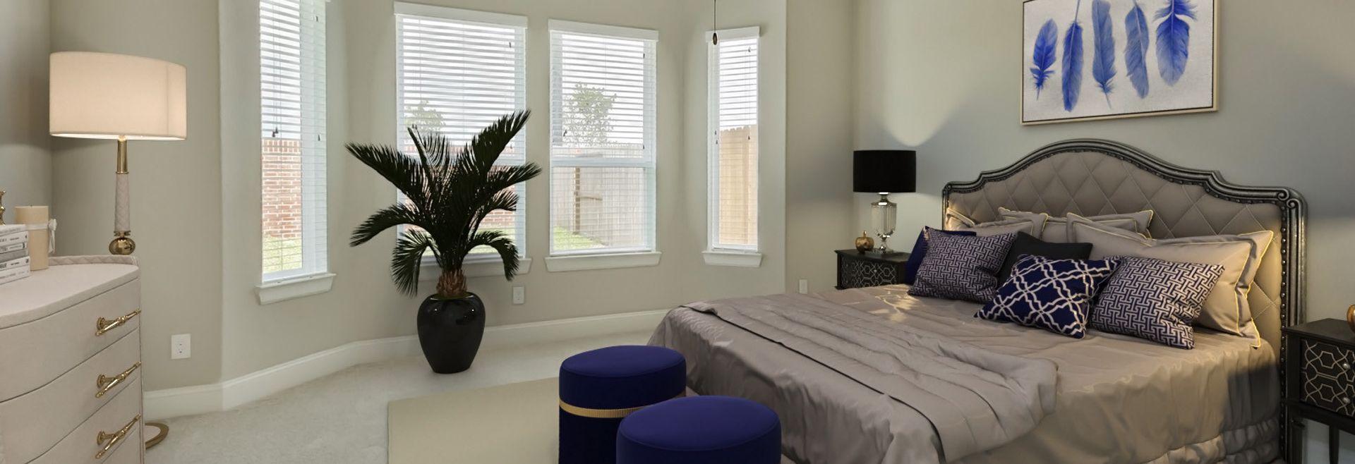 Plan 5114 Master Suite