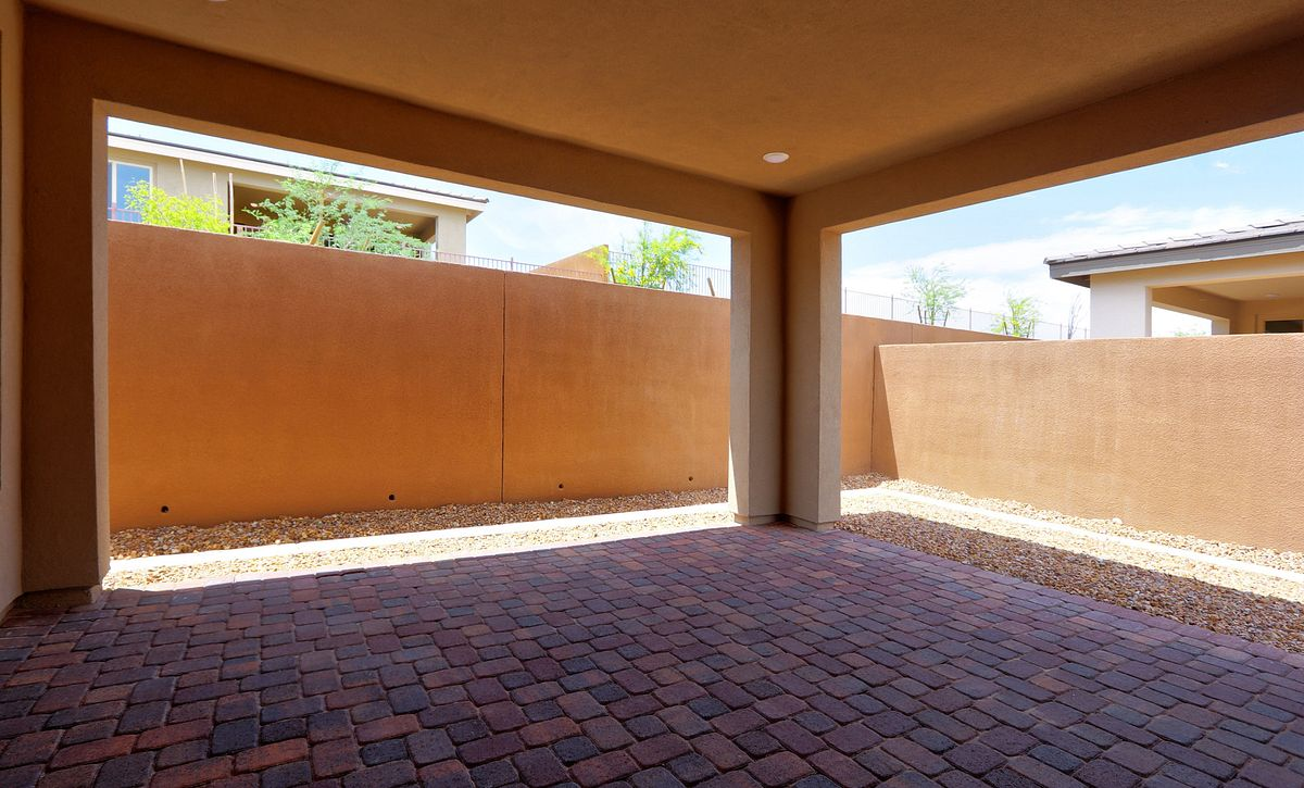 Trilogy Summerlin Explore Covered Patio