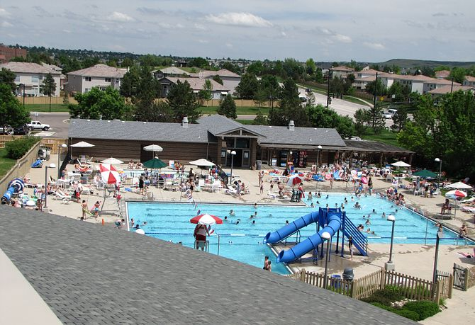 Highlands Ranch Northridge Rec Center Outdoor Pool