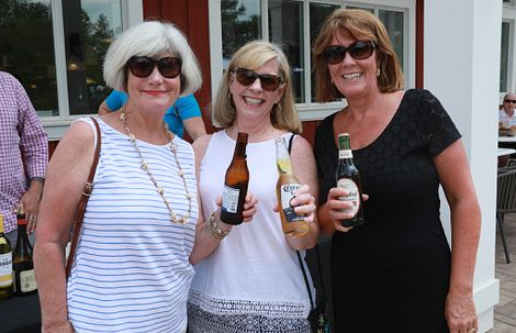group of ladies with beer