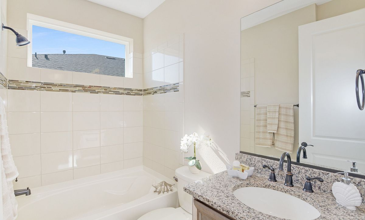 Trilogy at Ocala Preserve Quick Move In Refresh Plan Guest Bath
