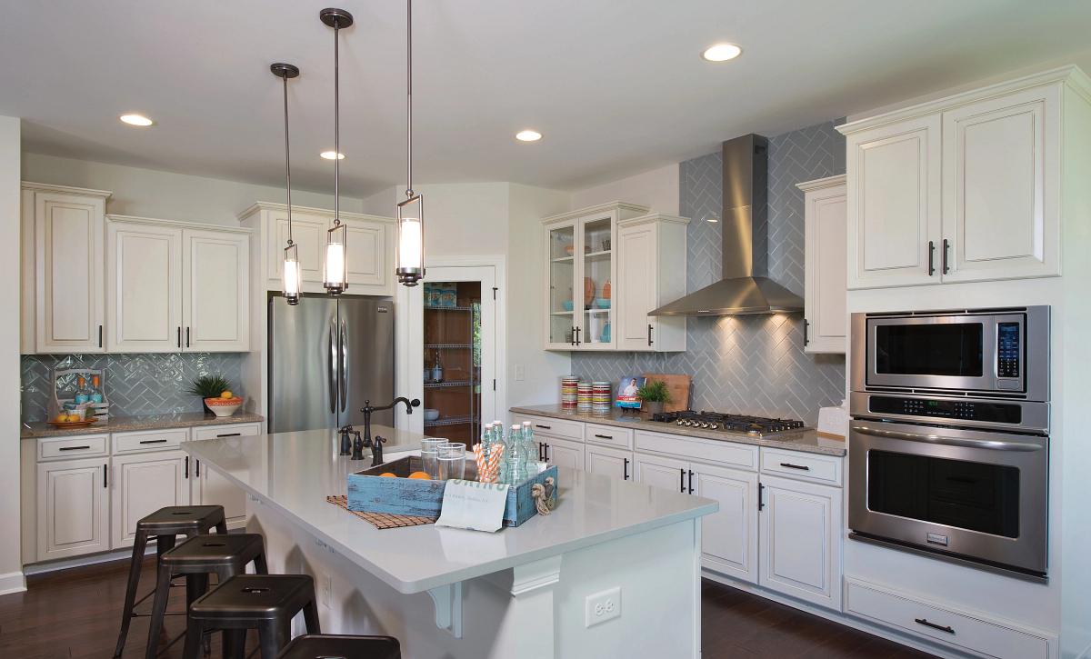 Redwood plan Kitchen with split cooking option