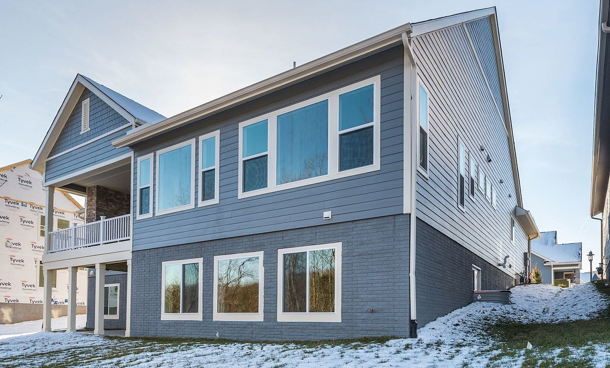 Trilogy at Lake Frederick Hensely Plan Quick Move In Rear Exterior