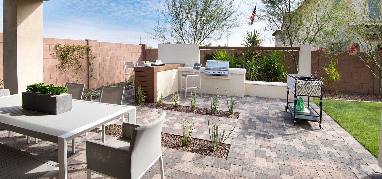 Ambition at Recker Pointe Plan 3572 Backyard