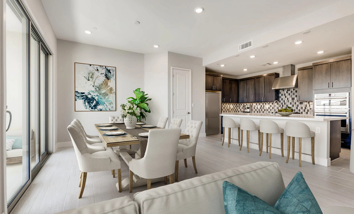 Trilogy Summerlin Inspire Dining Area