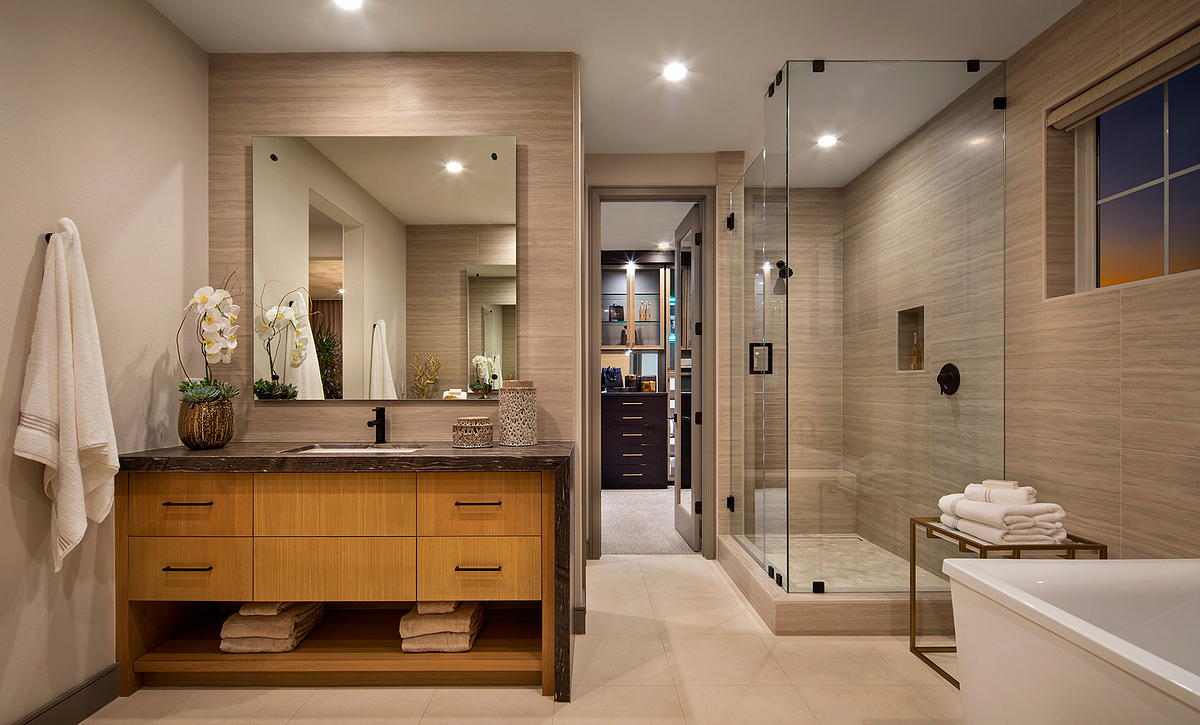 Ocean Place Plan 5 Master Bathroom