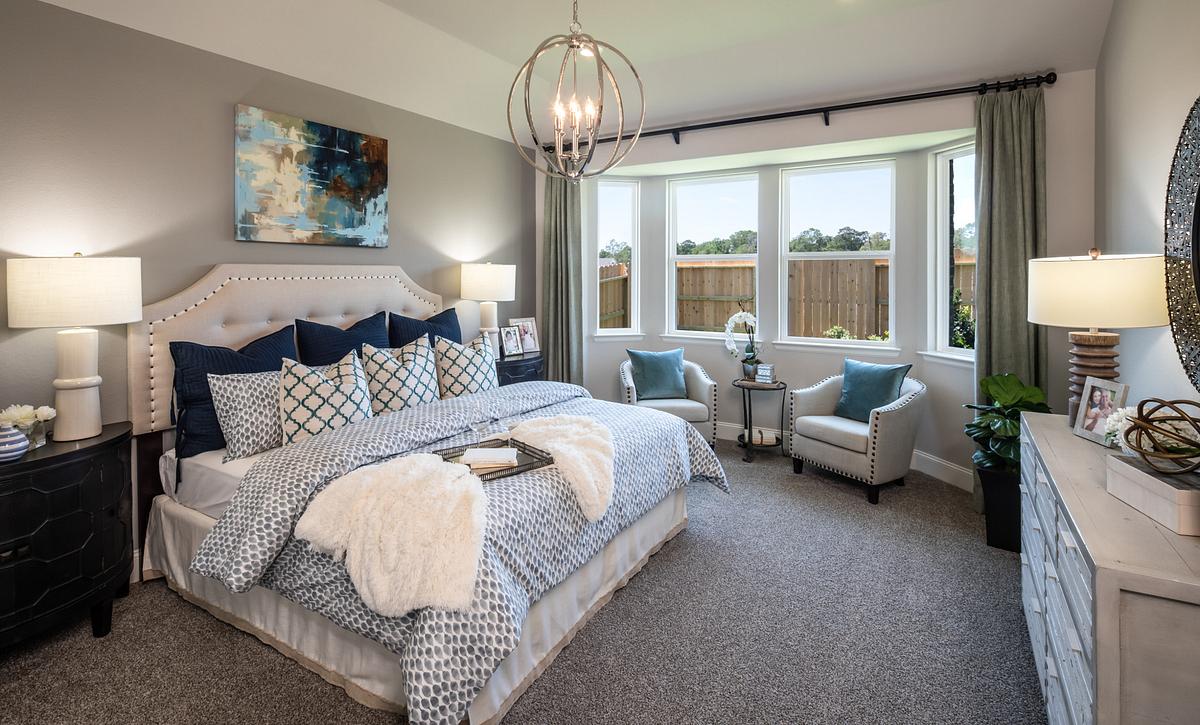 Plan 4039 Primary Bedroom