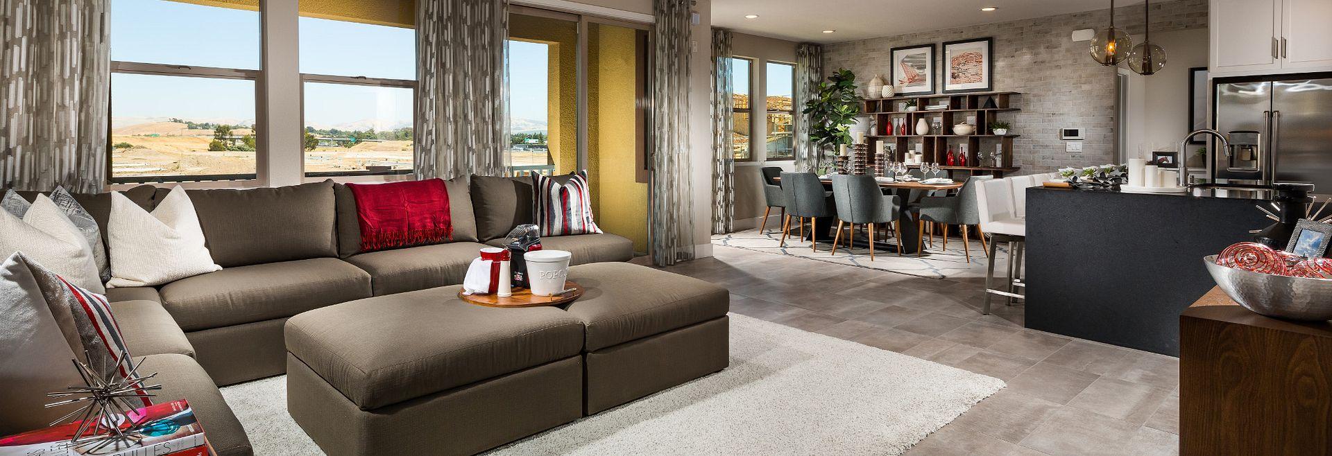Harmony Plan 7 Sage Livermore Living Room
