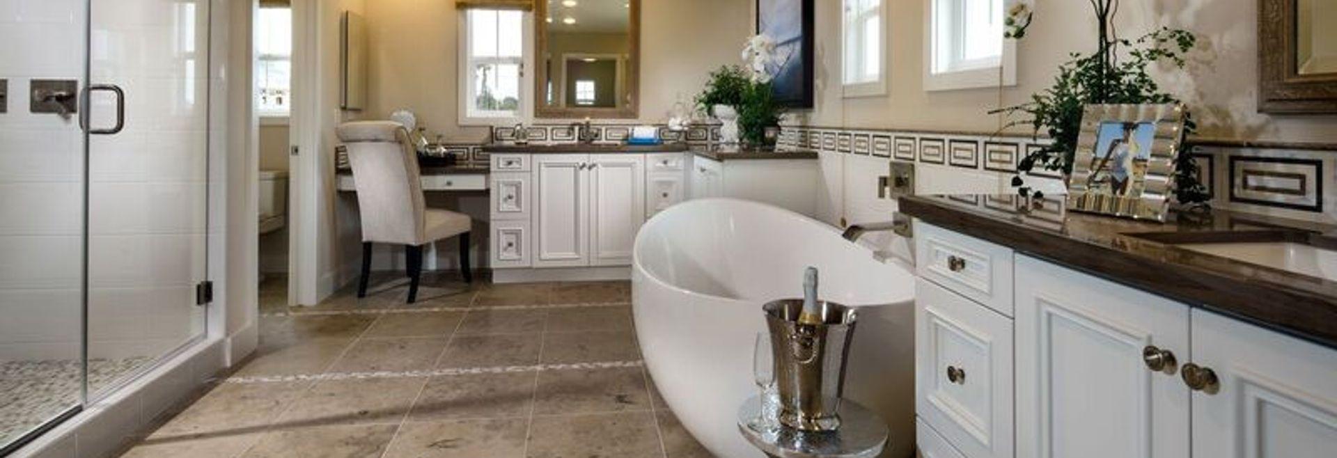 Beach House Plan 3 Master Bath