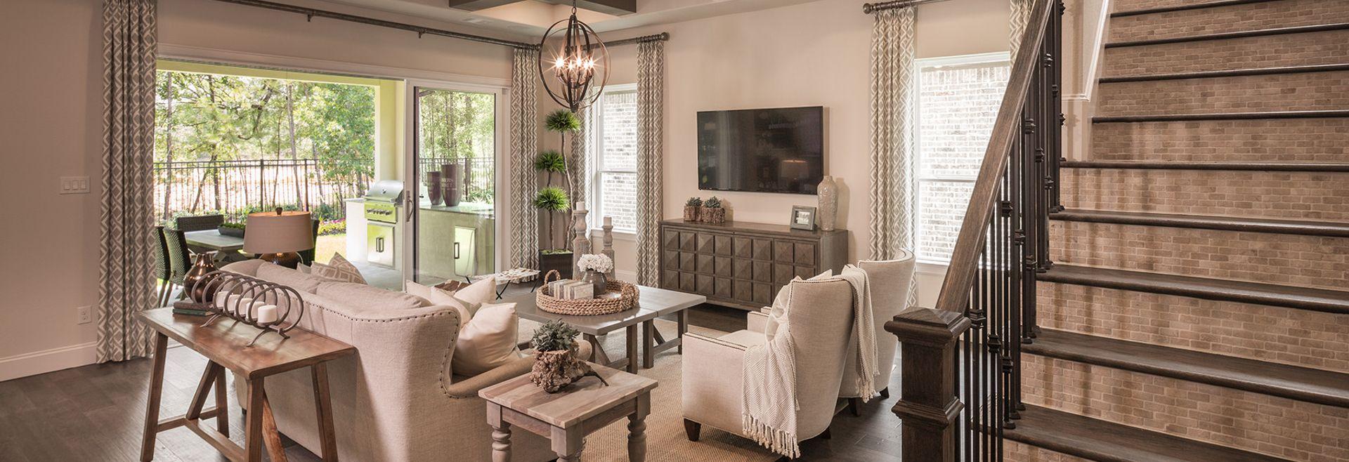 Harmony 60 Plan 5137 Living Room