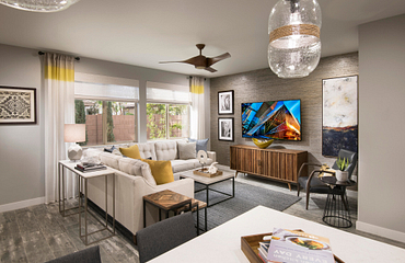 Polaris Plan 1013 Living Room