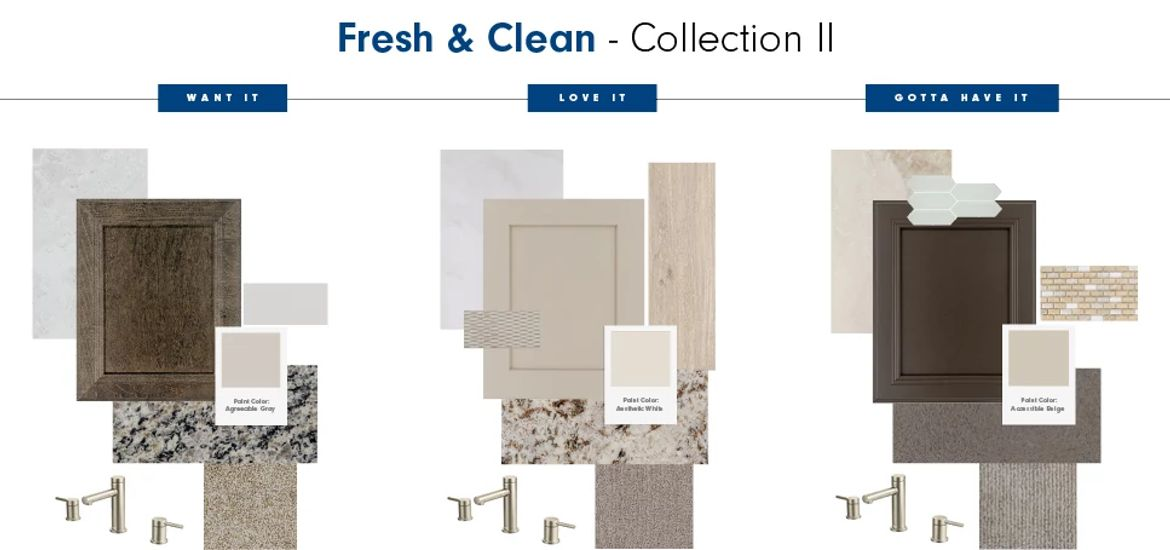 Design Joy Fresh & Clean Collection Products