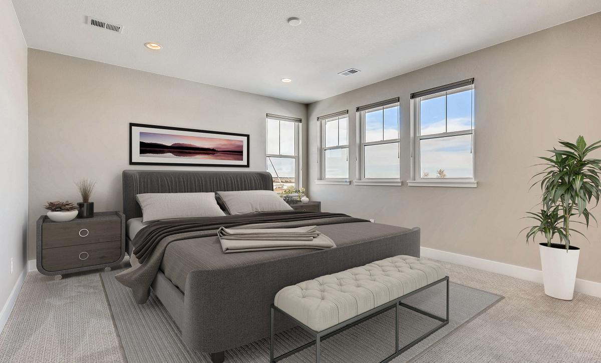 Solstice Trails Edge Waterton Master Bedroom