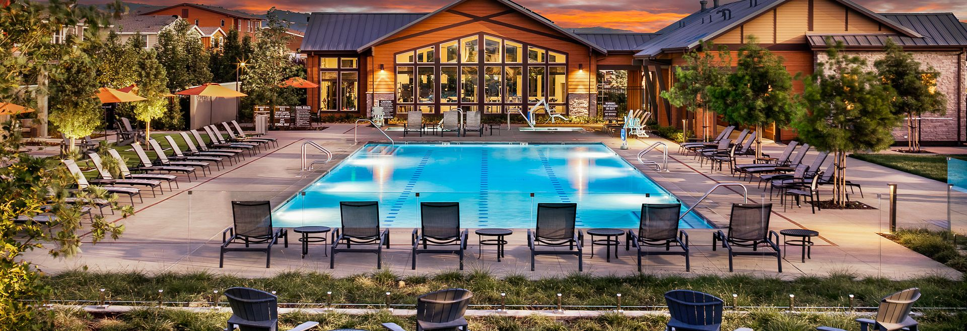 Sage Pool Clubhouse Cabanas Livermore Spas