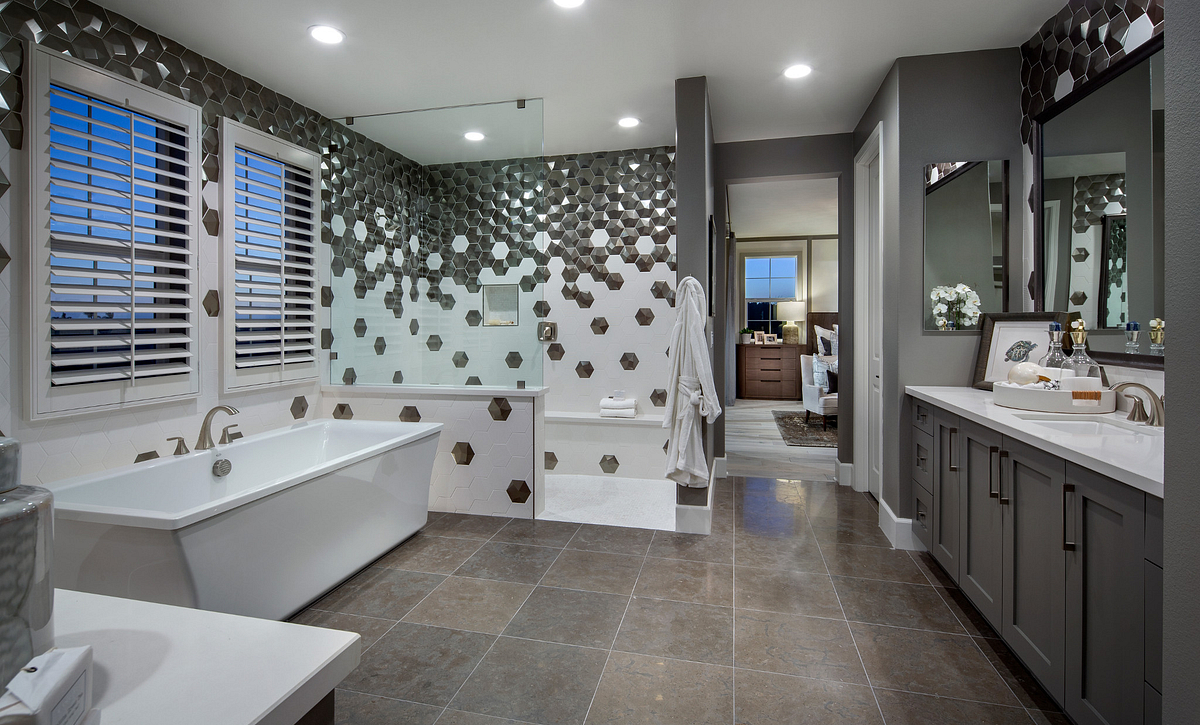 Parkside Estates Plan 3 Master Bath