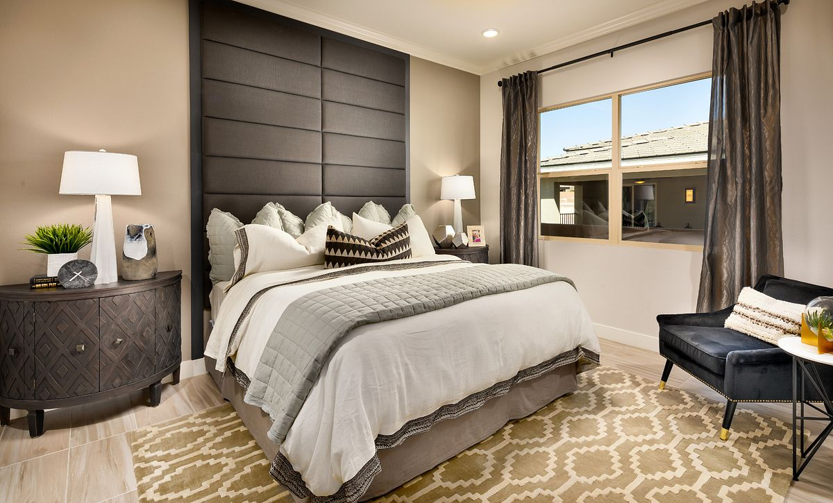 Trilogy in Summerlin Indulge Master Bedroom