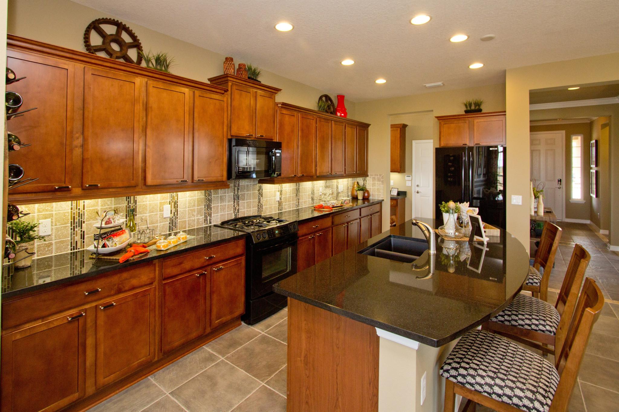 Trilogy Orlando Larkspur Plan Kitchen
