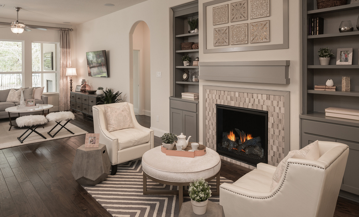 Plan 4117 Living Areas modeled in Harmony