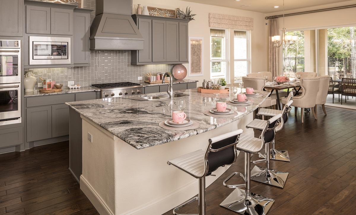 Plan 4117 Kitchen modeled in Harmony
