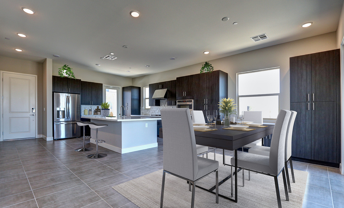 Trilogy in Summerlin Luminous Dining & Kitchen