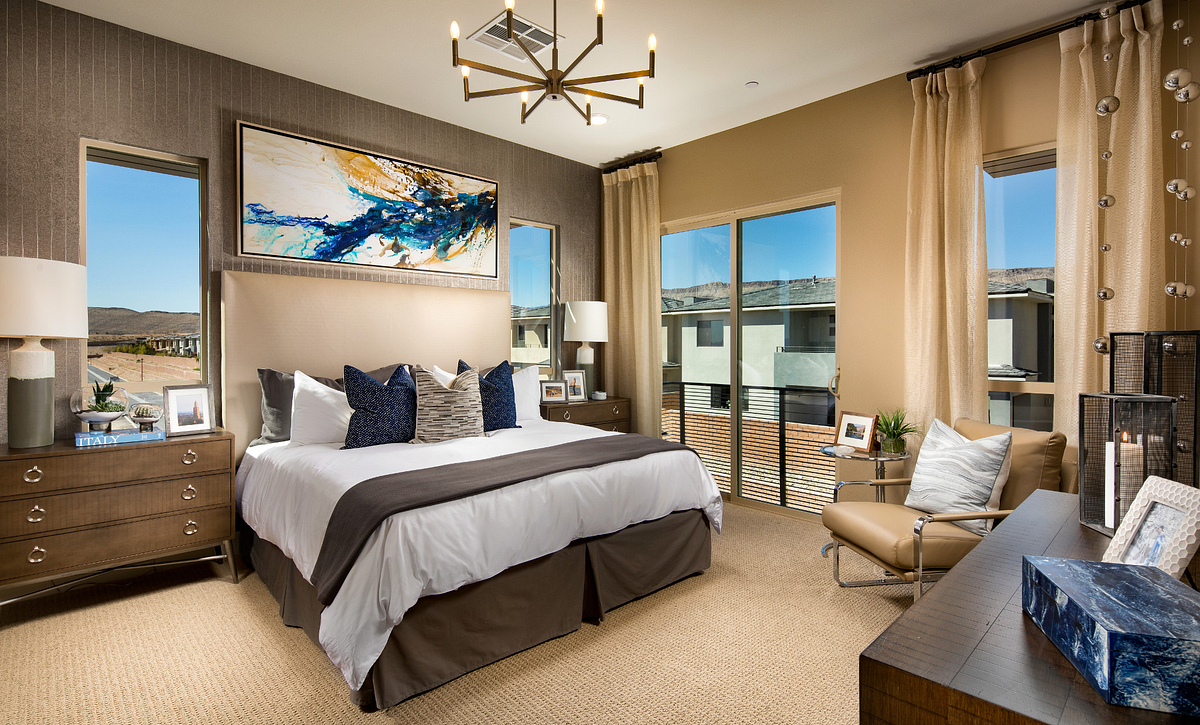 Trilogy in Summerlin Apex Master Bedroom