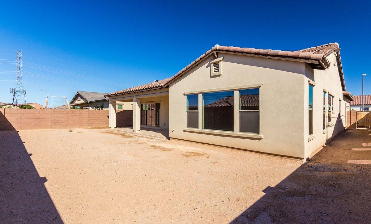 Homesite 6 Backyard