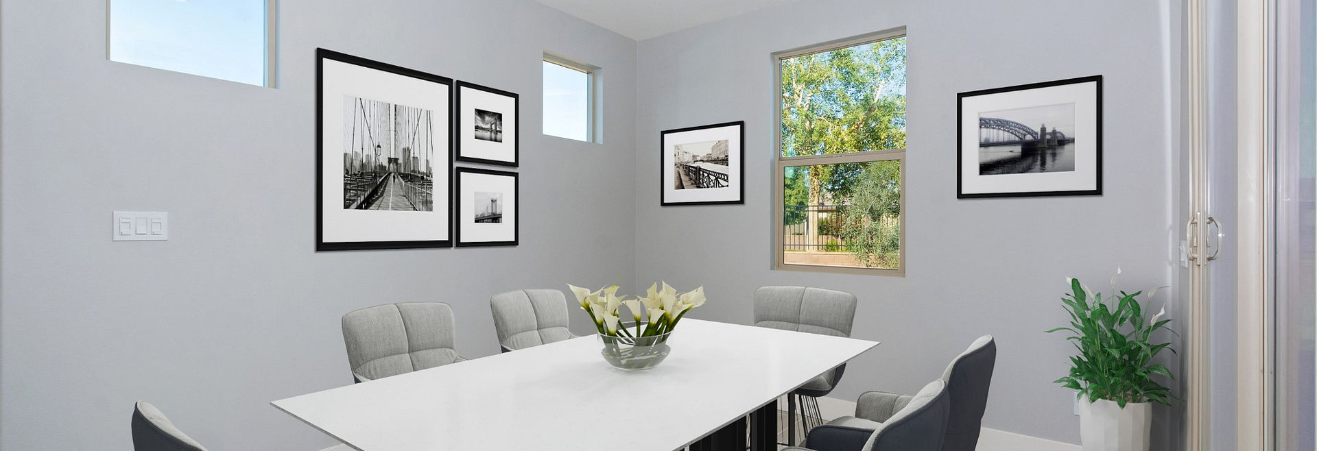 Trilogy Polo Club Unite Virtually Staged Dining Room
