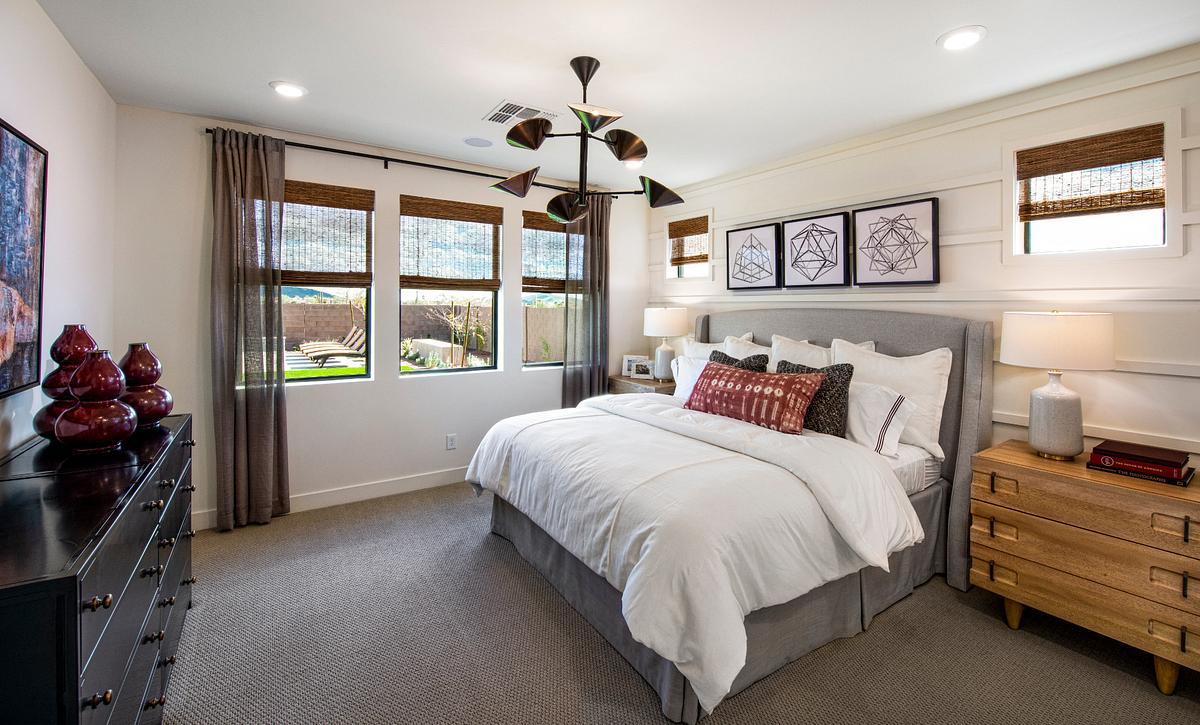 Ascent at Aloravita Plan 4014 Master Bedroom