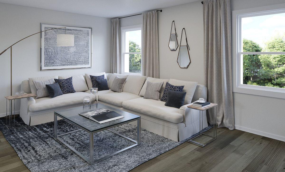 Brooklyn Plan Living Room