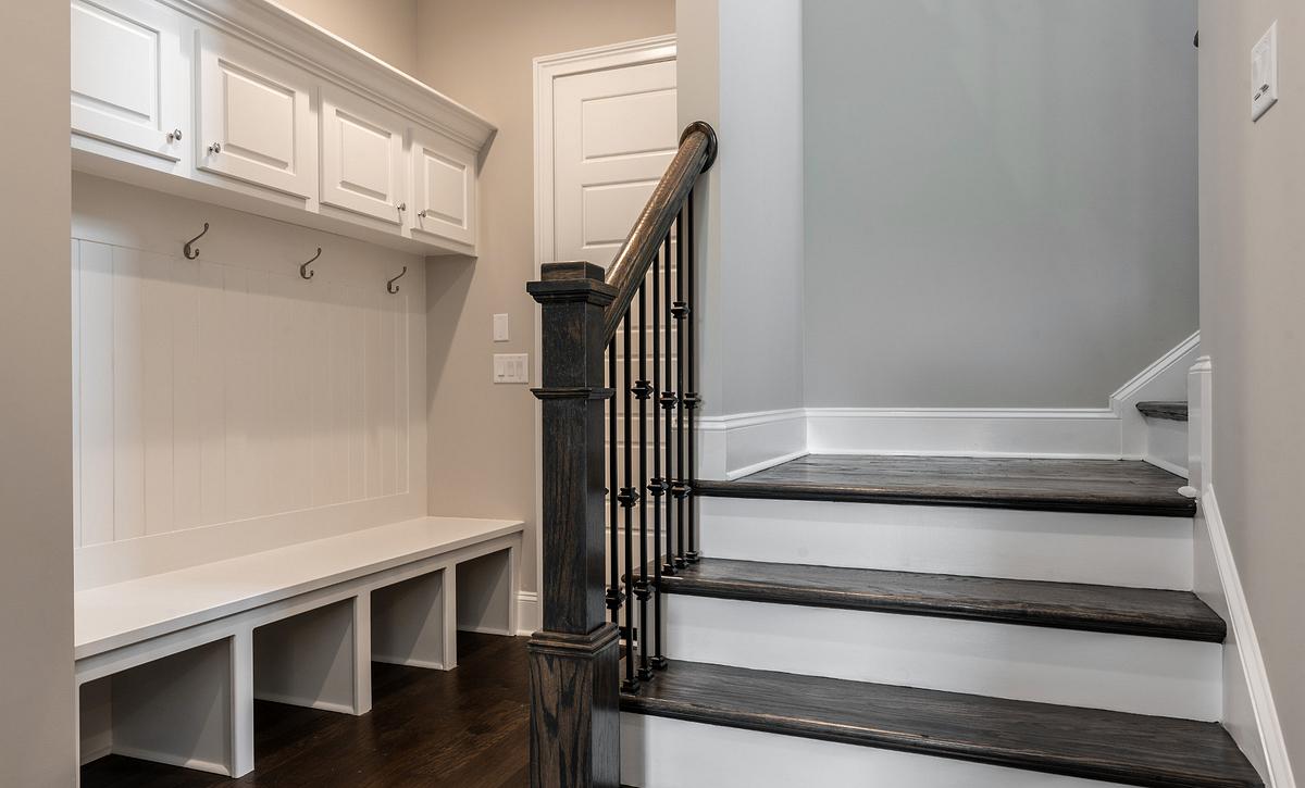 Preston plan Rear Stairs & Mud Room