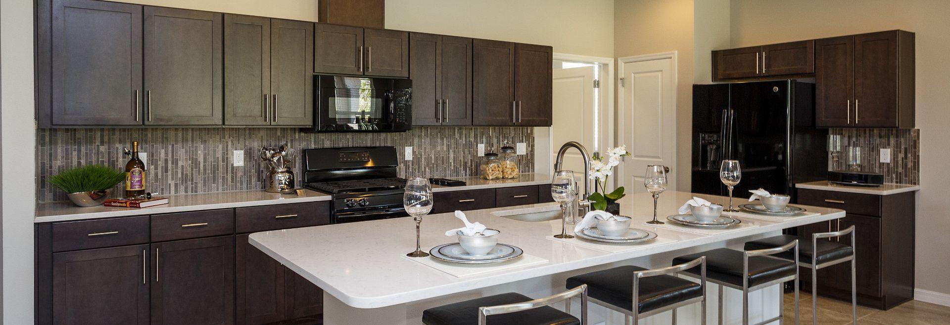Trilogy Orlando Affirm Model Kitchen